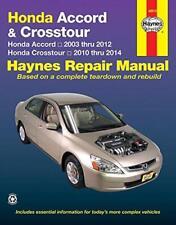 Haynes HONDA CROSSTOUR (10-14) EX L V6 FASTBACK Owners Service Manual Handbook