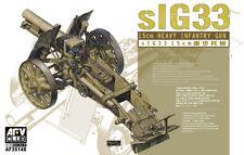 1/35 AFV 35148 - sIG33 15CM HEAVY INFANTRY GUN W/AMMUNITION  Plastic Model Kit
