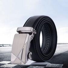 4471c7b0754f Messieur Jeans Homme Affaire Ceinture Cuir Taille Sangle Boucle Automatique  Belt