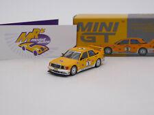 TSM MINI GT MGT00187-L # Mercedes Benz 190E 2.5-16 Evolution II No.3 Camel 1:64