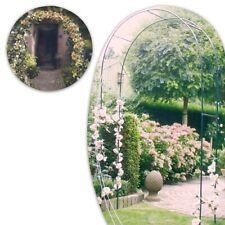 Arco Per Piante Rampicanti Rose Decorazione Arredo Giardino Supporto in Metallo