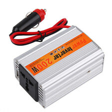 200W Car Auto Inverter Power Supply Adapter 12V DC to 220V AC Laptop Computer JL