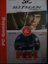 PC GAMING HITMAN CODENAME 47 PROJECT IGI VIDEO GAME RATED M