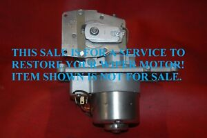 YOUR 1958 CHEVROLET FULL SIZE WIPER MOTOR RESTORED SHOW QUALITY PERFECT YR WARR