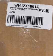 WH12X10614 GE WASHER CONTROL ASSEMBLY OEM BRAND NEW