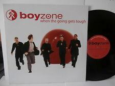 """boyzone""""when the going gets tough"""".Maxi12""""fr.or.pol:9155 de 1999 promo"""