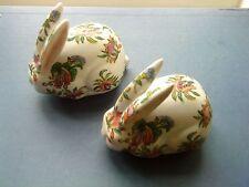 "Pair of Chinese ""Yang Cheng Wu Chen Nian Zhi"" Rabbits c.1928 export"