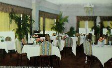 1900-10 Bullock's Tea Room, Los Angeles, CA Inside View Vintage Postcard F4