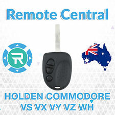 Holden Commodore 3 Button Car Remote - Case/Shell & Uncut Key VS VX VY VZ WH