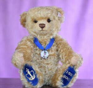 Steiff 660870 The Coronation Teddy Bear Limited Edition Growler