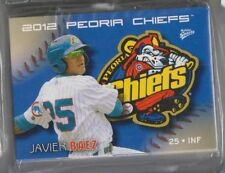 COMPLETE 2012 PEORIA CHIEFS TEAM SET MINOR LEAGUE LOW A CUBS  Javier Baez