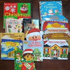 Lot of 14 Christmas Board and Pop Up Books Toddler Baby Lift the Flap