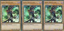 YUGIOH 3 X DARK MAGICIAN - YUCB-EN001  ULTRA LIMITED EDITION