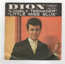 """Paper Jacket ONLY for Dion singing """"Lonely Teenager"""" & """"Little Miss Blue"""" #3070"""
