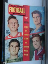 charles Buchan's Football monthly 1962 Aug no132 top 10 photos