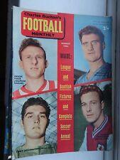 David Herd (Manchester Un) Football magazine Buchan's 1962 Aug 132 top 10 photos