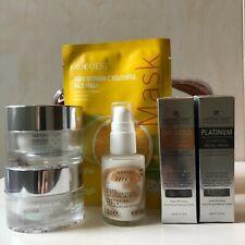 Anti-Ageing Skin Care Gift Set ~24K Gold & Platinum Six Peptides Facial Serums