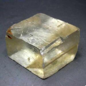 72g Optical Calcite Iceland Spar Healing Stone x0033