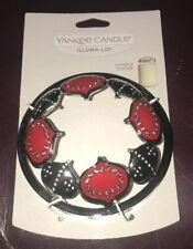 Yankee Candle SCANDINAVIAN ORNAMENTS Illuma-lid Jar Candle Topper ❄️NEW❄️