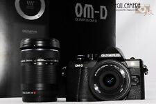 [NEAR MINT] Olympus OM-D E-M10 Mark II 16.1 MP w/ 14-42mm 40-150mm Lens (M487)