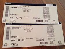 Rita Ora-Konzert Hamburg-26.05.2018 Große Freiheit-2 Tickets!