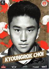 Kyoungrok Choi FC St. Pauli 2014/15 handsignierte Autogrammkarte 14/15 BVB