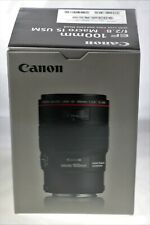 Canon EF100mm f2.8 Macro IS USM - Free Next day special delivery