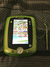 Green Leap Pad 2 With 7 Games, Protective Case, Charger And Carry Bag