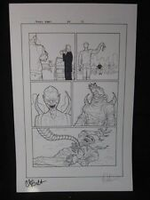 Amory Wars Issue 4 page 12 Signed Claudio Sanchez Coheed Cambria