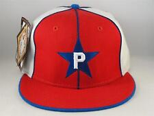 Philadelphia Stars Negro League Headgear Fitted Hat Cap Size 7 1 2 Red White bfe58bccbed