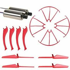 Holy Stone HS120 Quadcopter Drone Crash Pack Red Motors, Blades, Guards & Legs