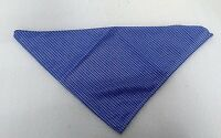 11x Blue/ White checker Neckerchief Bandana Neck Scarf Triangle Workwear Party