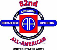 82ND AIRBORNE DIVISION & OPERATION DESERT STORM VETERAN  2-SIDED SHIRT