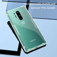 For OnePlus 8/8 Pro Nillkin Nature Shockproof Transparent Soft TPU Case Cover
