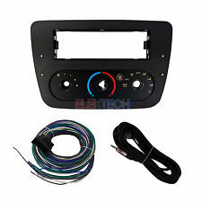 Radio Replacement Dash Kit 1-DIN w/Harness for Ford/Mercury w/Climate Controls