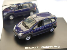 Renault Scenic RX 4 in blau bleu blu blue metallic, Revell Premium in 1:43 boxed