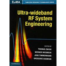 Ultra-wideband RF System Engineering (EuMA High Frequen - Hardcover NEW Thomas Z