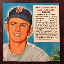 1953 Redman Tobacco Set MEL PARNELL no tab #AL 25 BOSTON RED SOX - NMINT