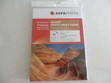 Agfa Photo Papel fotográfico DIN A4 250 Hojas / 210g Brillante AP21050A4