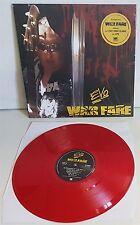 Evo Warfare RED Vinyl LP Record new Lips from Anvil + Fast Eddie Clarke
