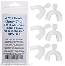 Watts Dental - Thinnest Teeth Whitening Trays Available for Home Teeth Whitening