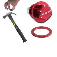ADD W1 Magnetic Oil + Tranny Drain Plug Pkg w/ MT For Honda Acura Red