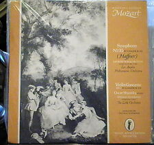 Mozart/Shumsky/Wallenstein/Scherman  Haffner; Violin Concerto  Music Appreciatio