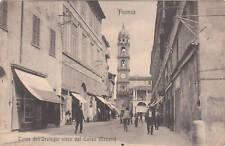 * FAENZA - Torre dell'Orologio vista dal Corso Mazzini