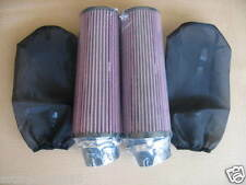 """38-44mm Carb BANSHEE YFZ350 10"""" AIR FILTER W/COVER (Pair) Fit Year 04"""