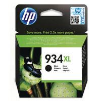 Genuine Original Hp 934XL C2P23AE Black Ink Cartridge New Sealed 2017 HP934 uk