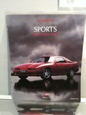 TOYOTA SUPRA  CELICA AND MR2 CAR BROCHURE @ 1990