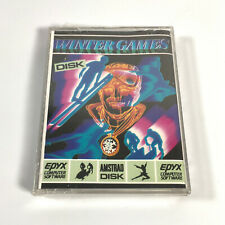 WINTER GAMES - Amstrad - DISK Version - FACTORY SEALED / NEW OLD STOCK