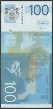 Serbia / Serbien [26R] - 100 Dinara 2013 aUNC - Pick 57br, Replacement Serie ZA