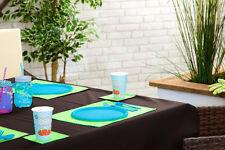 """Brown 70"""" x 108"""" rectangulaire nappe extérieur imperméable jardin salle à manger"""